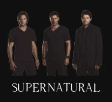 Supernatural - Jared, Jensen & Misha | V-Neck