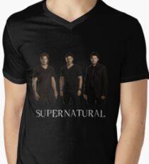 Supernatural - Jared, Jensen & Misha Men's V-Neck T-Shirt