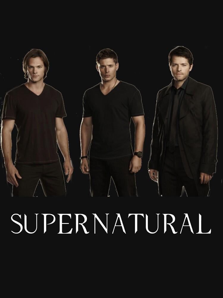 Supernatural - Jared, Jensen & Misha | V-Neck