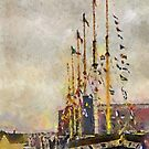 The SS Great Britain, Bristol, UK  by David Carton