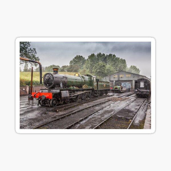 Days Of Steam Sticker