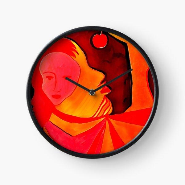 Stream of Consciousness Art Clock