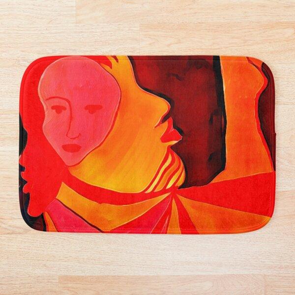 Stream of Consciousness Art Bath Mat