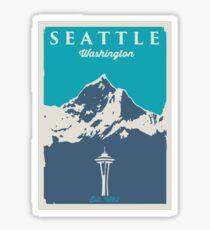 Seattle Washington. Sticker