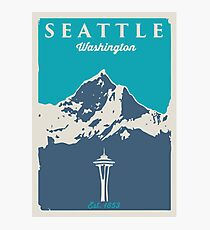 Seattle Washington. Photographic Print