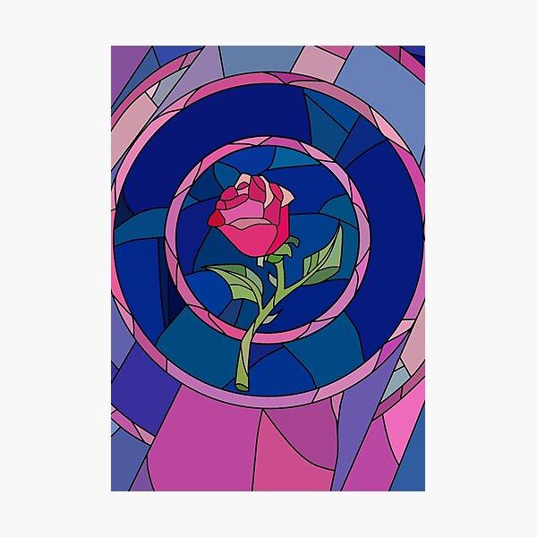 Glass Rose Photographic Print