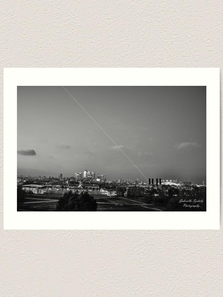 Alternate view of Meridian light in London Art Print
