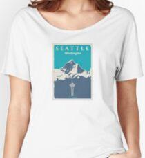 Seattle Washington. Women's Relaxed Fit T-Shirt