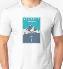 Camiseta ajustada Seattle, Washington.