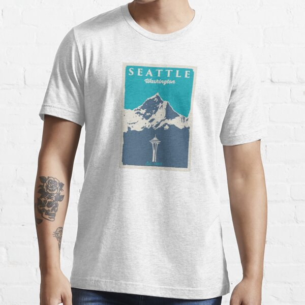 Seattle Washington. Essential T-Shirt