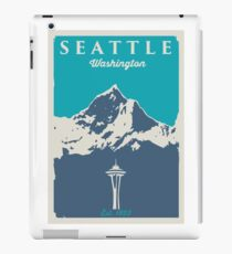 Seattle Washington. iPad Case/Skin