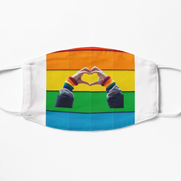 gay pride Flat Mask