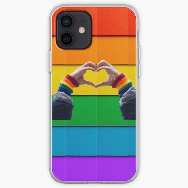 gay pride iPhone Soft Case