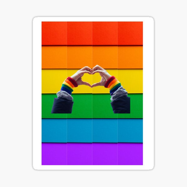 gay pride Sticker