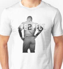 Respect Derek Jeter Re2pect 2 On Back new york uniform MJ baseball Unisex T-Shirt