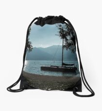Italian Lake Drawstring Bag