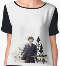 Consulting Detective Chiffon Top