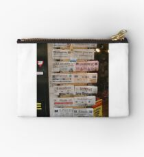 Newspapers Studio Pouch