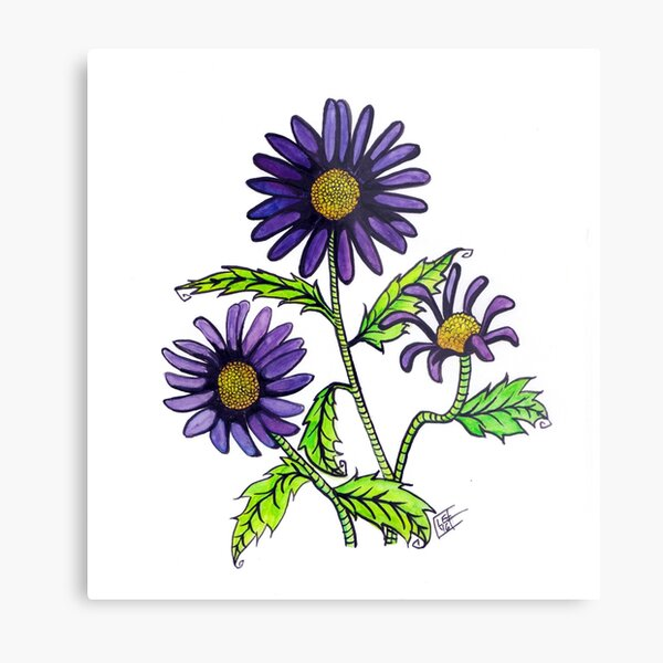 Flower Series #3 Metal Print