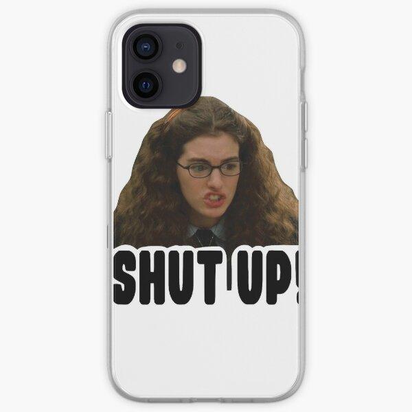 shut up iPhone Soft Case