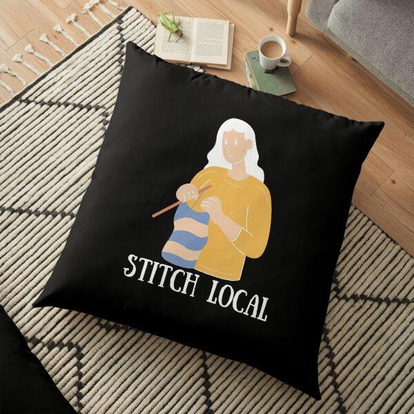 Stitch Local   Crochet Floor Pillow