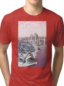 ColorCity: Sydney NSW Tri-blend T-Shirt