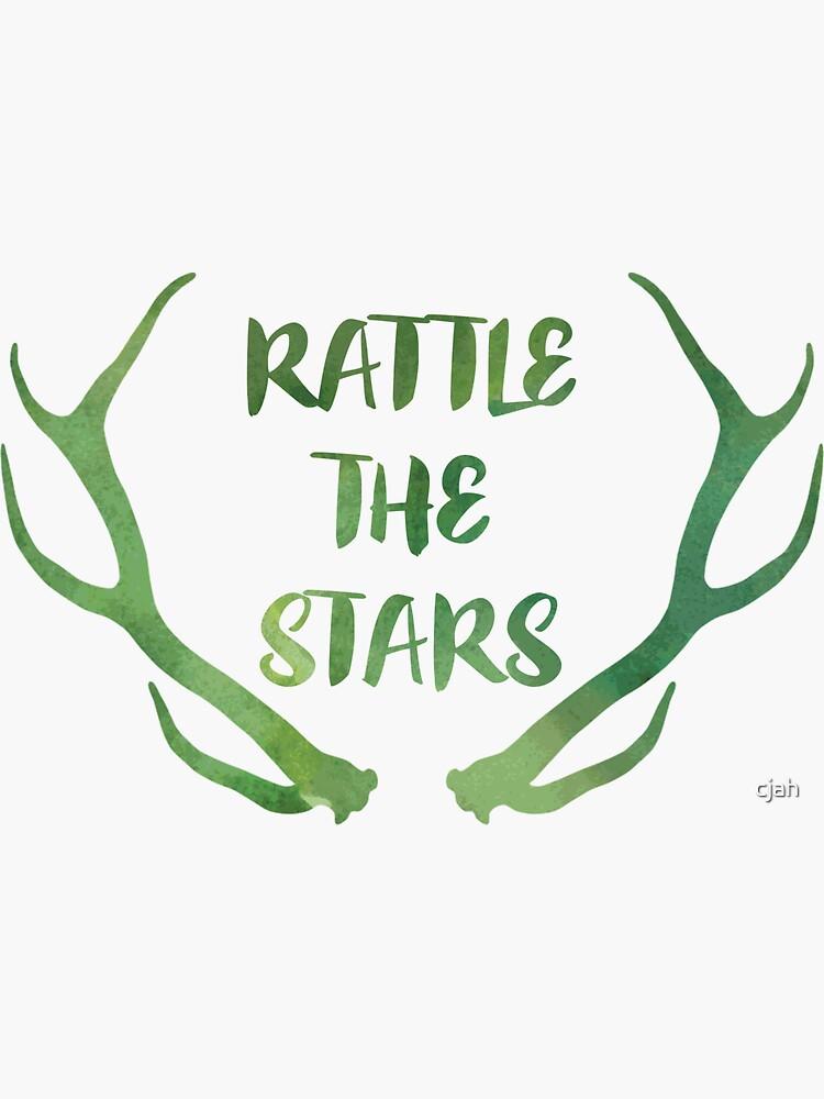 Acuarela de Rattle the Stars de cjah