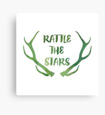 Rattle the Stars watercolor Canvas Print