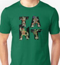 Teenage Mutant Ninja Turtles TMNT Letterforms T-Shirt