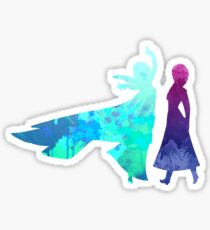 Sisters Inspired Silhouette Sticker