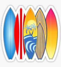 Surfboards Sticker