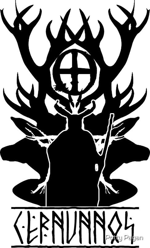 Quot Cernunnos Celtic God Of The Woods Dark Version