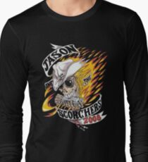 Jason and the scorchers 2008 tour shirt Long Sleeve T-Shirt