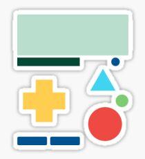 Minimalist BMO - Adventure Time Sticker