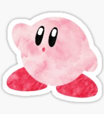 Watercolour Kirby! Sticker
