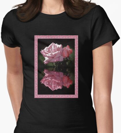 Passionately Pink Rose Duo T-Shirt