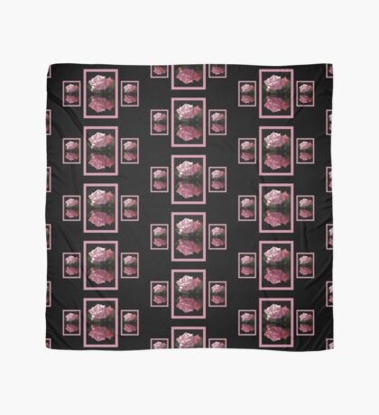 Passionately Pink Rose Duo Scarf