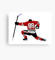 Patrick Kane Celebration Art Canvas Print
