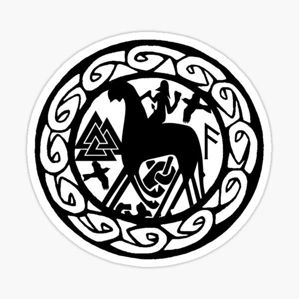Odin. Sticker