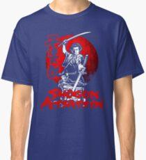 LONEWOLF AND CUB AKA SHOGUN ASSASSIN SHINTARO KATSU JAPANESE RETRO SAMURAI MOVIE  Classic T-Shirt