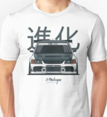 Lancer Evo IX (white) T-Shirt
