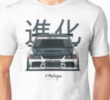 Lancer Evo IX (white) Unisex T-Shirt
