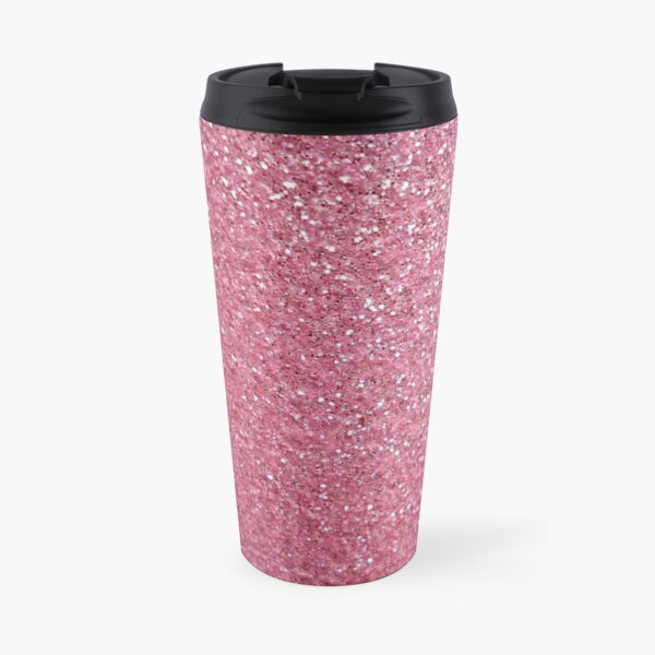 Glitter pink Travel Mug