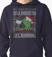 I Heard You Like Ugly Sweaters Pullover Hoodie