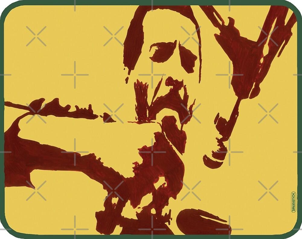 Richie Havens in Woodstock (Zeichnung) von thedrumstick
