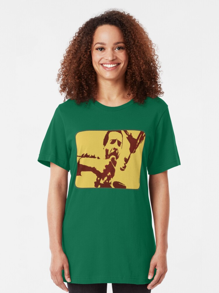 Alternate view of Richie Havens at Woodstock (drawing) Slim Fit T-Shirt