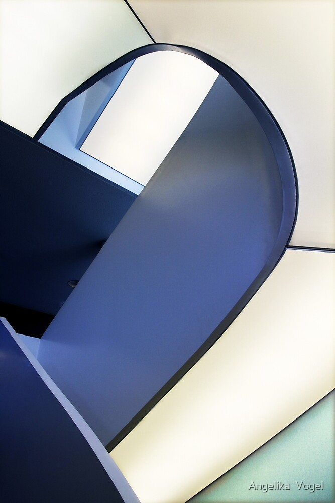 Abstract Architecture in Berlin by Angelika  Vogel