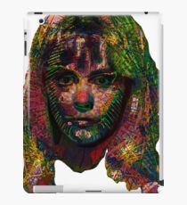 Capable Friend Of The Fifties Film Scream Queen Version Four  iPad Case/Skin