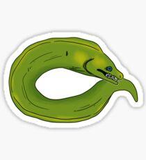 Green Moray  Sticker