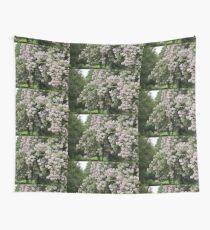 Bushy Flowering Bush Tree Thing Wall Tapestry